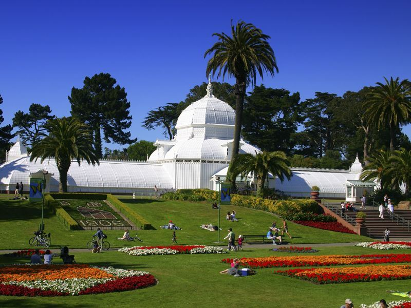 golden gate parks conservatory of flowers