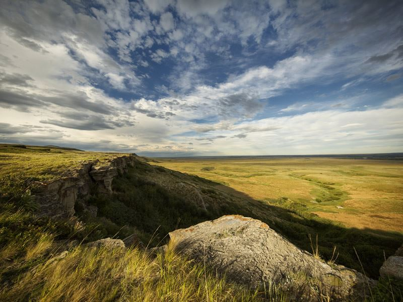 head smashed in buffalo jump world heritage site