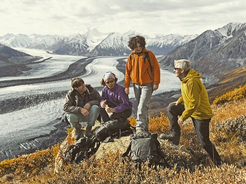 hiking kluane national park yukon