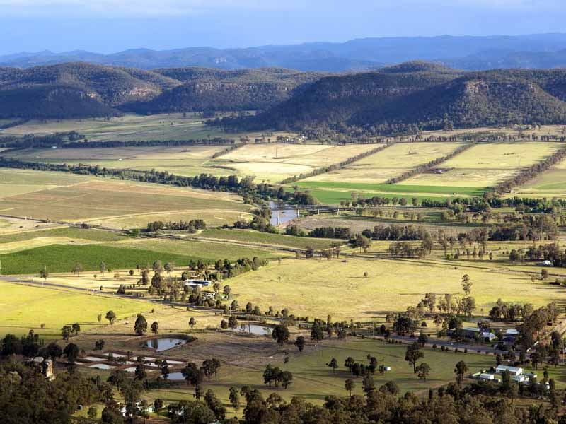 hunter valley country scene