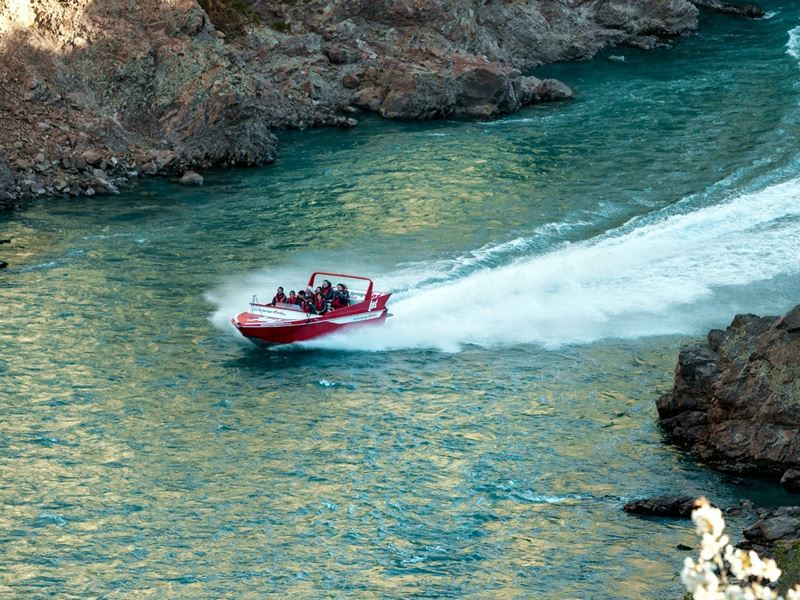 jet boat trip hanmer springs canterbury s island new zealand