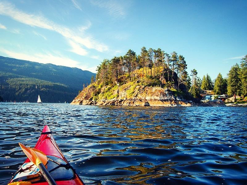 kayak deep cove north vancouver