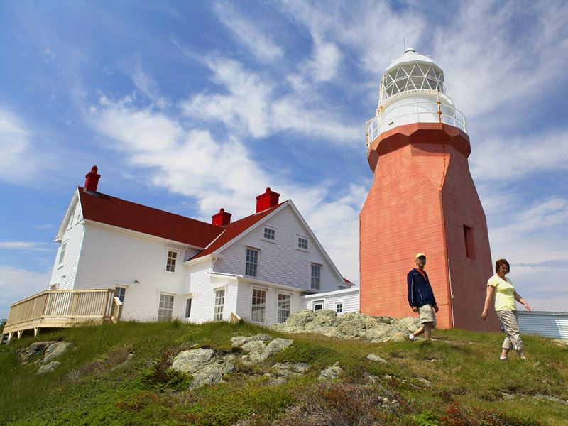 long point lighthouse in twillingate central