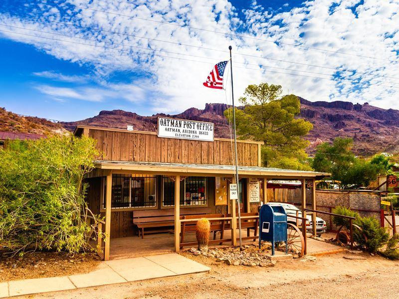 oatman historic us post office arizona