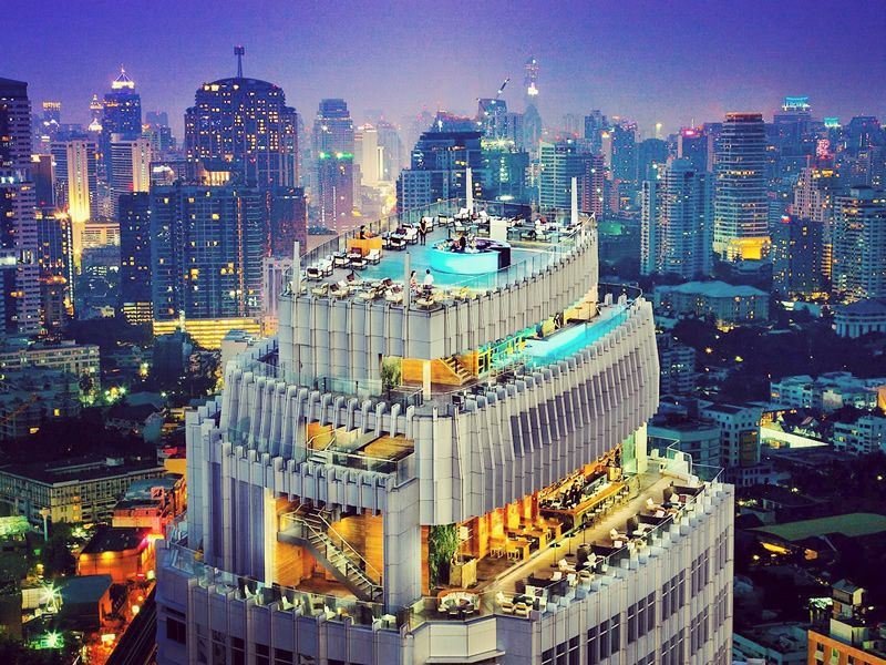Top 10 Rooftop Bars In Bangkok Thailand Travel Inspiration