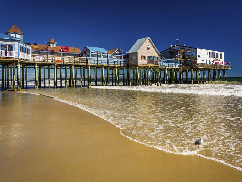 Old Orchard Beach's pier