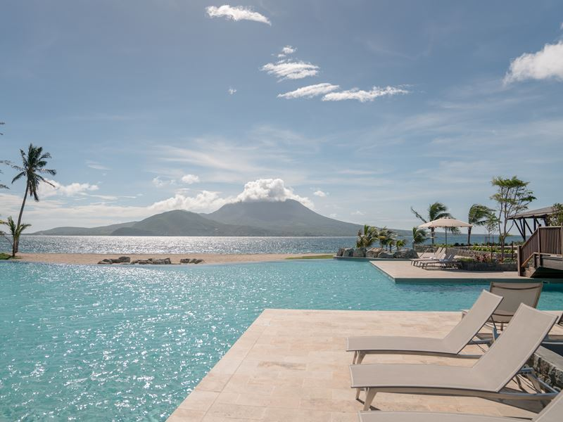 park hyatt st kitts lagoon pool