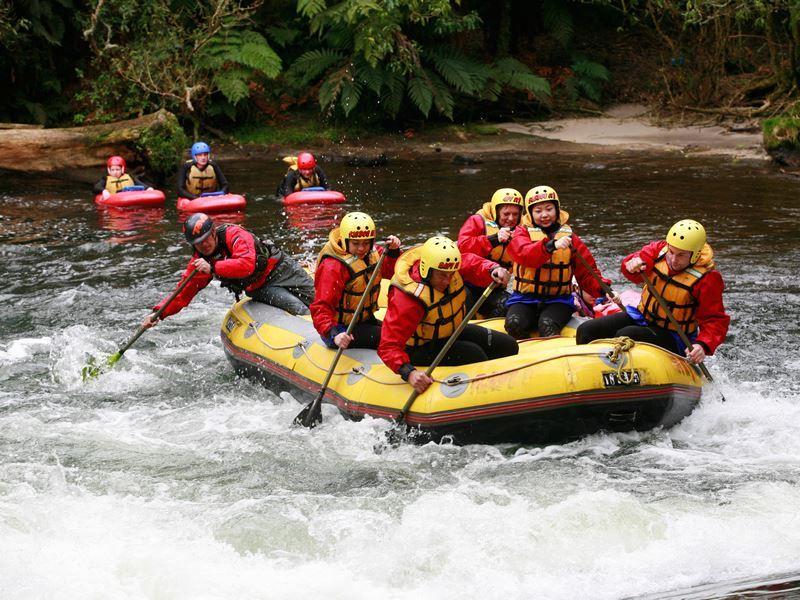 rafting rotorua james heremaia