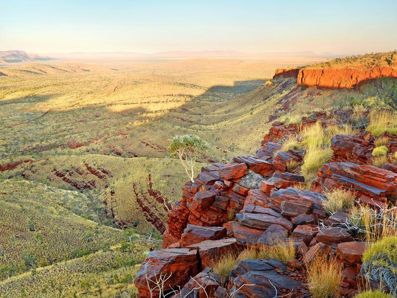 red rocks karijini national park