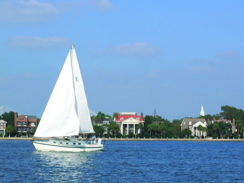 sailing charleston