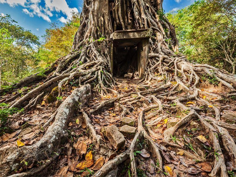 sambor prei kuk temple cambodia