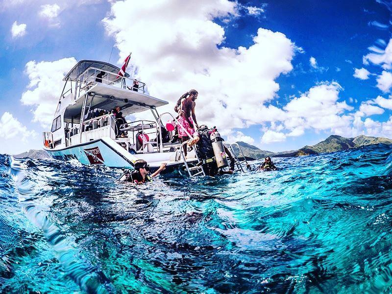 Scuba trip, Tobago