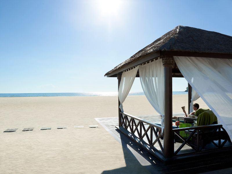 shangri las rasa ria resort beach cabana