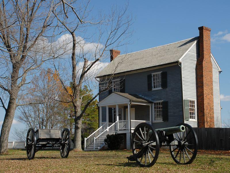 site appomattox battle