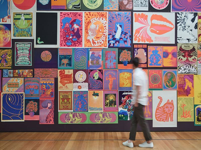 sixties art display moma new york