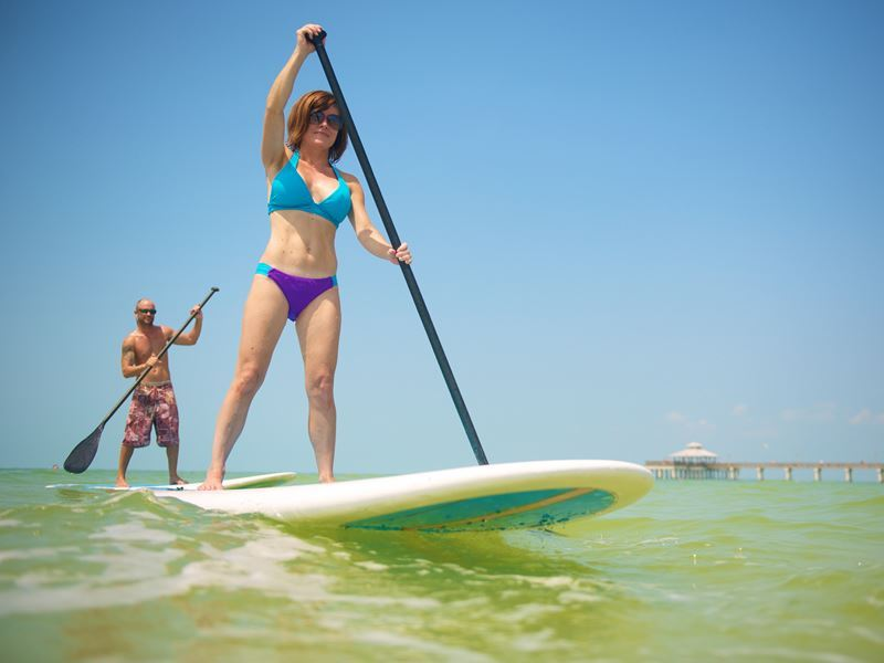 stand up paddle boarding in fort myers