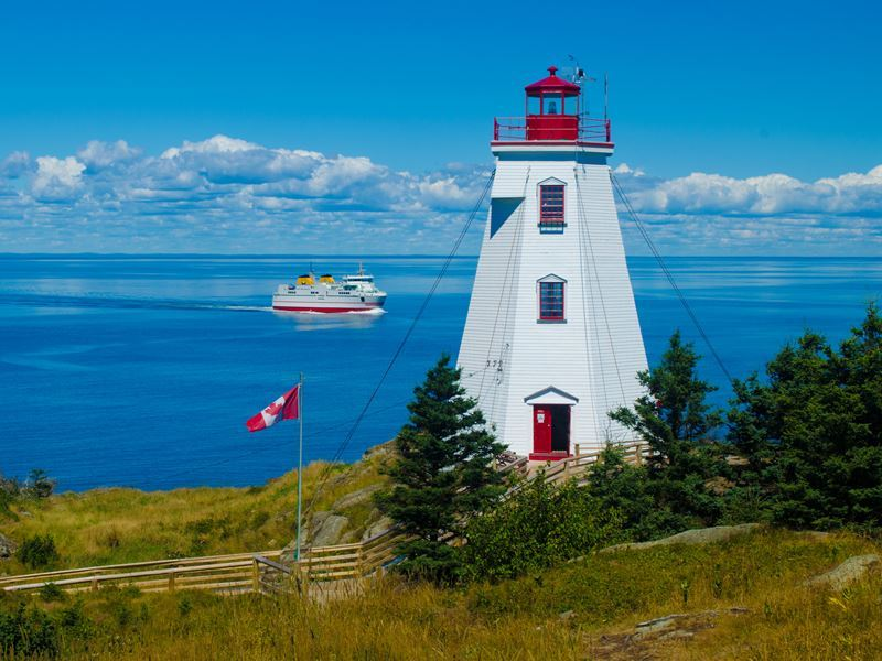 swallowtail lighthouse grand manan island