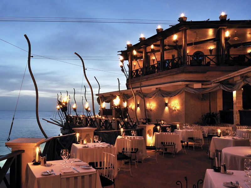 the cliff restaurant barbados
