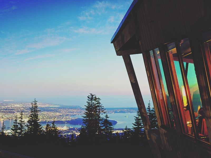 the observatory restaurant grouse mountain