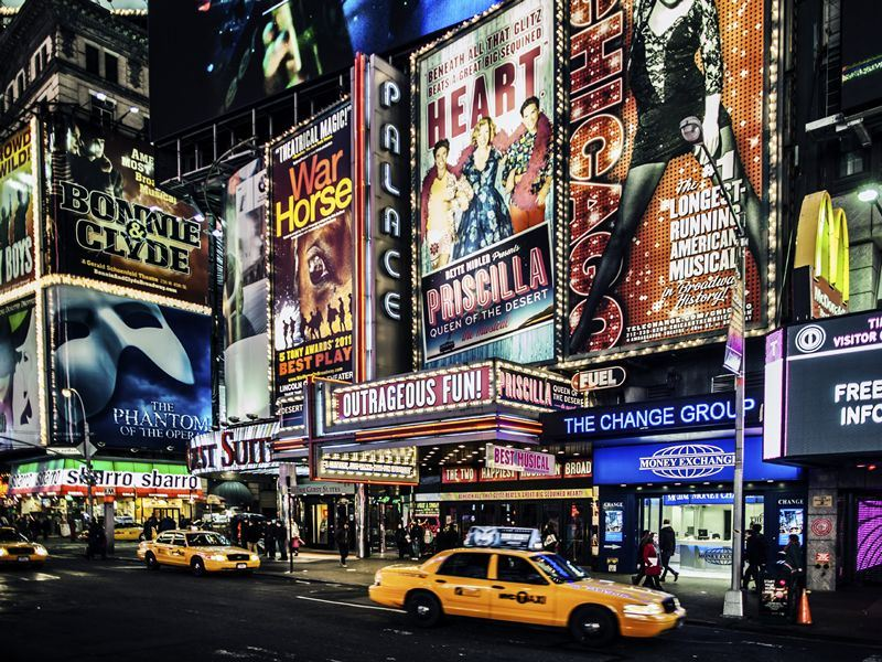 times square broadway