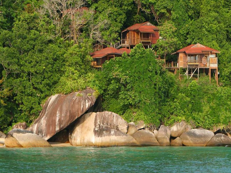 treetop chalets at japamala tioman island