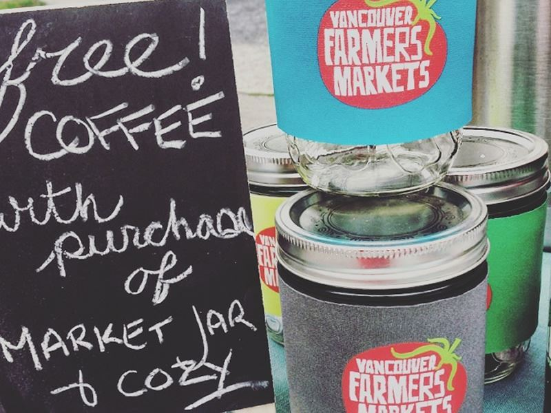 vancouver farmers market coffee