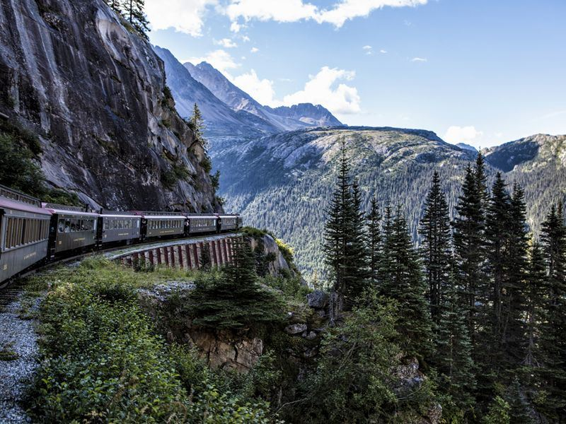 white pass and yukon rail route