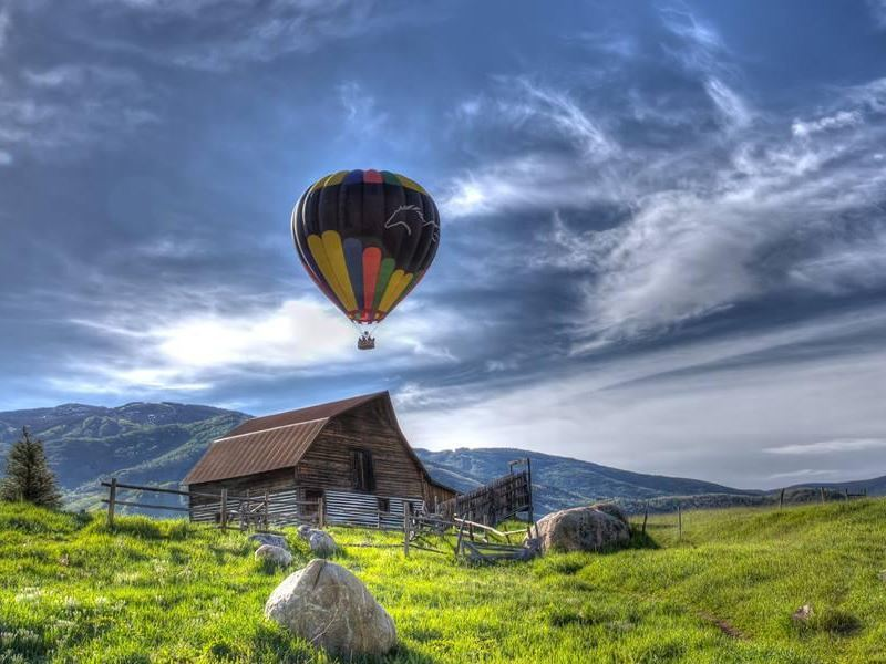 wild west ballooning colorado