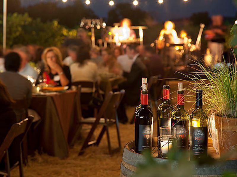 wine club event at peju napa valley