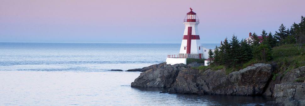 Head Harbour Lighthouse on Campobello Island
