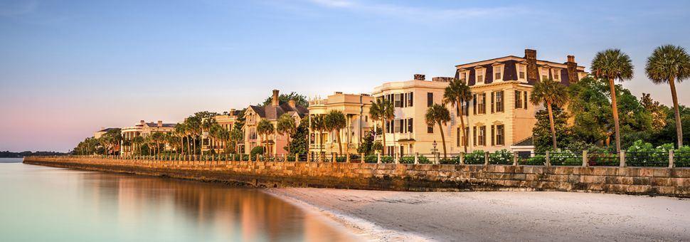 Historic homes along the Battery, Charleston