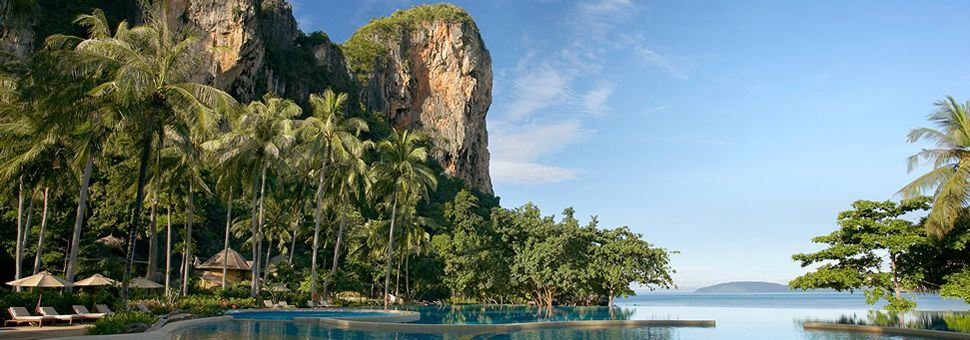 Luxury holidays at Rayavadee Krabi, Thailand